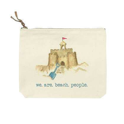 Sand Castle Cosmetic Bag
