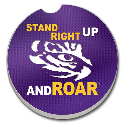 Car Coaster - Louisiana State University  - Stand Right Up and ROAR