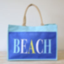 Beach Jute Tote In Aruba Blue.jpg