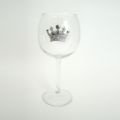 Crown Red Wine Goblet copyright by Maurice Milleur