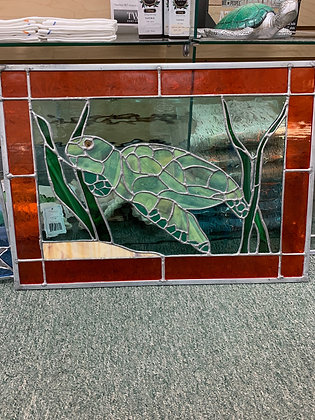 Elements of Stained Glass - Turtle