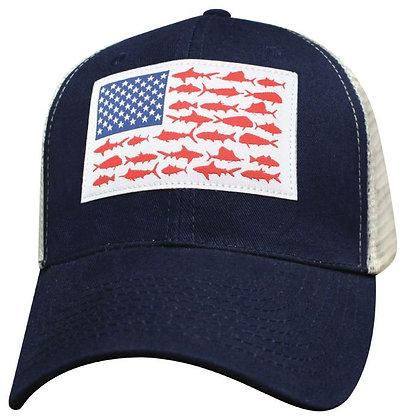 Iconic Flag Cap - Navy