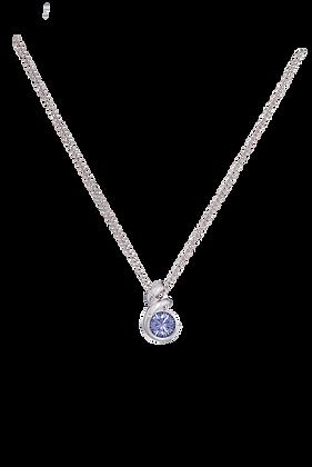 Annaleece By Devries Tanzanite Essentials Necklace
