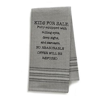 Kids for Sale Waffle Towel