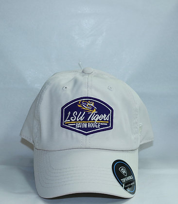 LSU Tigers Baton Rouge Beige Baseball Cap