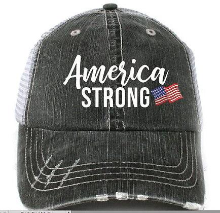 America Strong Baseball Cap