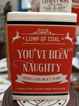 Lump of Coal Vintage Soap