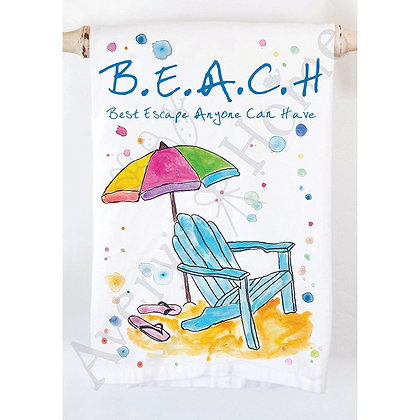 Beach Kitchen Towel