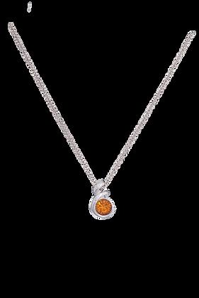 Annaleece By Devries Topaz Essentials Necklace