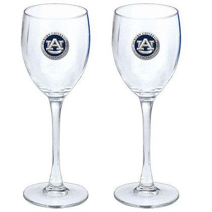 Auburn University Goblet Glasses - copyright