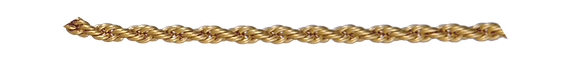 """Annaleece By Devries Chain Rope 18"""" Gold"""