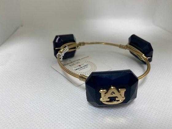 Auburn Navy Bangle Bracelet