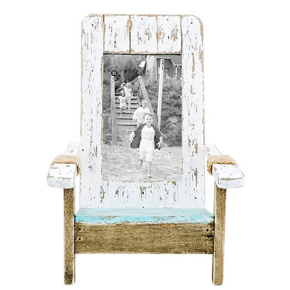 Weathered Chair Photo Frame 4 x 6