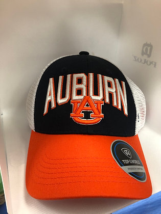 Auburn University Navy and Orange Cap