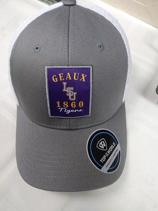 LSU Grey Geaux Baseball Cap