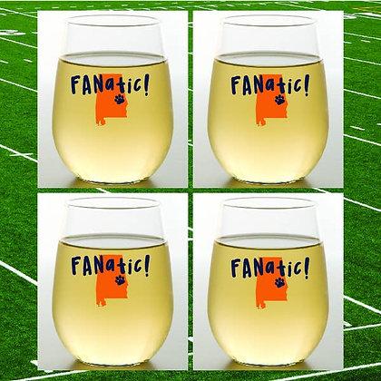 Auburn Shatterproof Wine Glass - set of 2