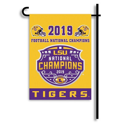 LSU Tigers National Championship 2019 Garden Flag