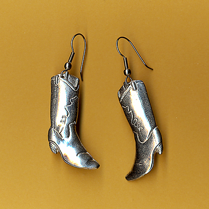 Boot Earrings copyright by Maurice Milleur
