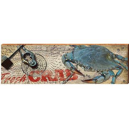 Fresh Blue Crab Sign