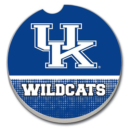 Car Coaster - Kentucky Wildcats on Blue