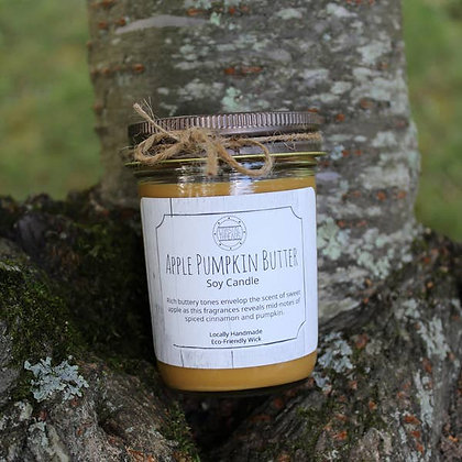 Apple Pumpkin Butter Soy Candle - 8oz