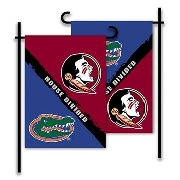 Florida and Florida State House Divided Garden Flag