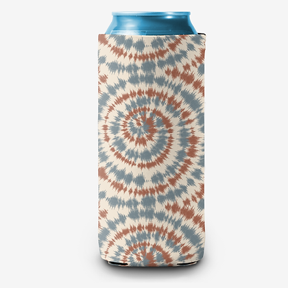 USA Tie Dye Can Cooler