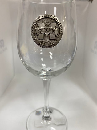 Mississippi State Wine Goblet