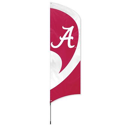 Alabama Tall Team Flag Kit with Pole 11.5 ft tall