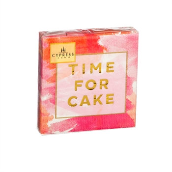 Time for Cake Cocktail Napkin
