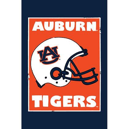 Auburn University Helmet Garden Flag