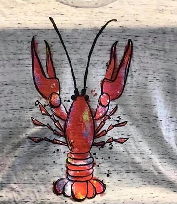Crawfish V-Neck T-Shirt