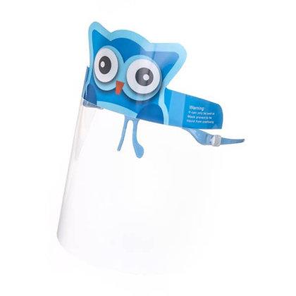 Kids Owl Face Shield