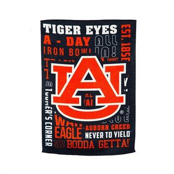 University of Auburn Fan Rules Garden Flag 12.5x18