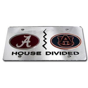 Alabama/Auburn Silver Laser Tag