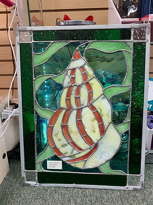Elements of Stained Glass - Sea Shell