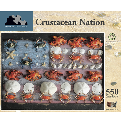 Crustacean Nation Jigsaw Puzzle 550 Pieces
