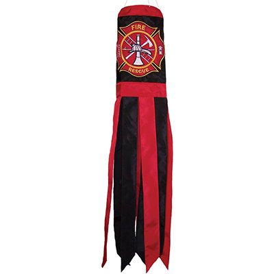 "Fireman Logo 40"" Windsock"