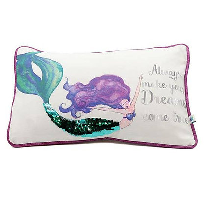 Mermaid Accent Pillow