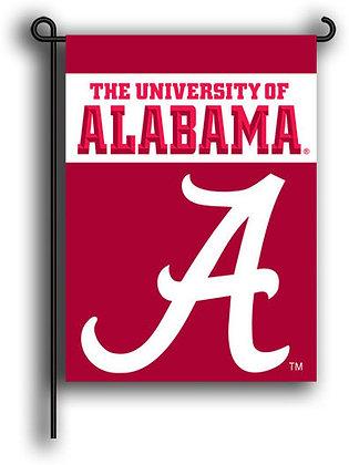 University of Alabama Big A Garden Flag