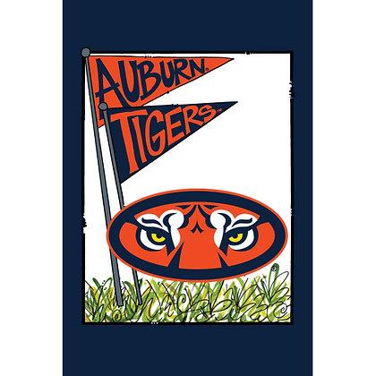 Auburn University Mascot Flag Garden Flag