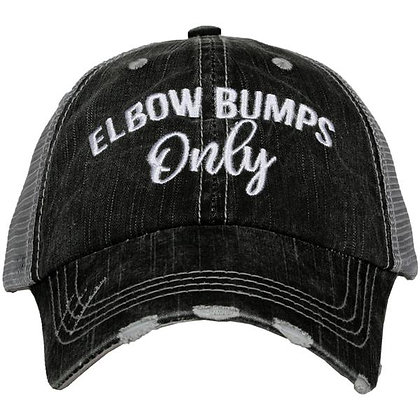 Elbow Bumps Only -Adjustable Cap