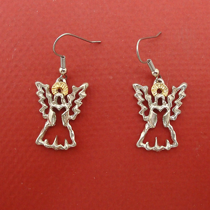 Angel of Hope Wire Earrings copyright by Maurice Milleur