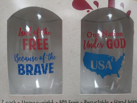American Shatterproof Wine Glass - set of 2