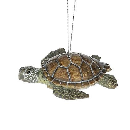 Sea Turtle Ornament Resin