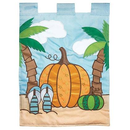 Fall Coastal Garden Flag 13 x 18