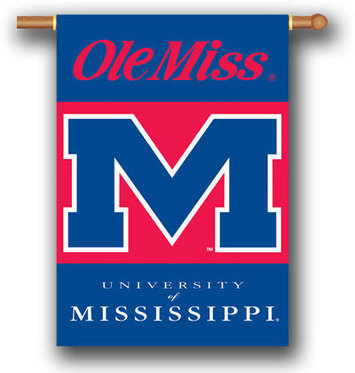 University of Mississippi 2-Sided Banner 28 x 40