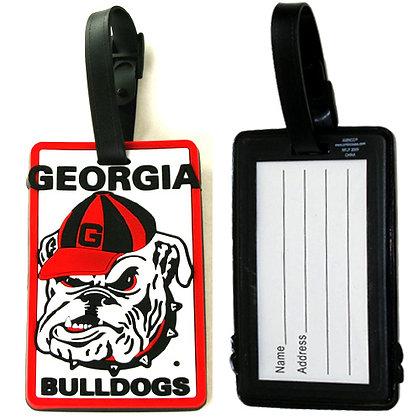 Georgia Bulldogs Luggage Tag