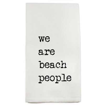 We Are Beach People Kitchen Towel