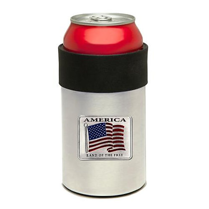 US Flag Can Cooler - copyright